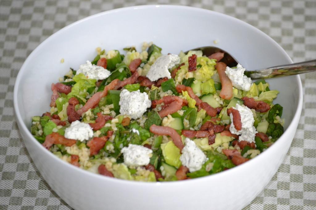 Zomerse bulgur salade foto (6)