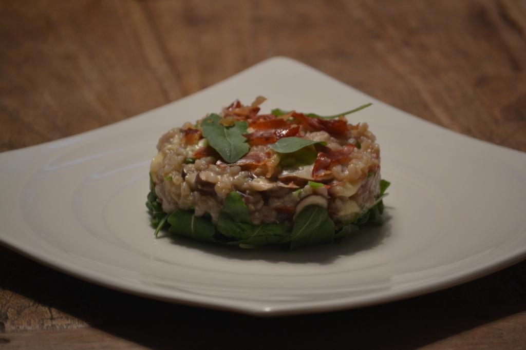 Herfst risotto met champignons (7)