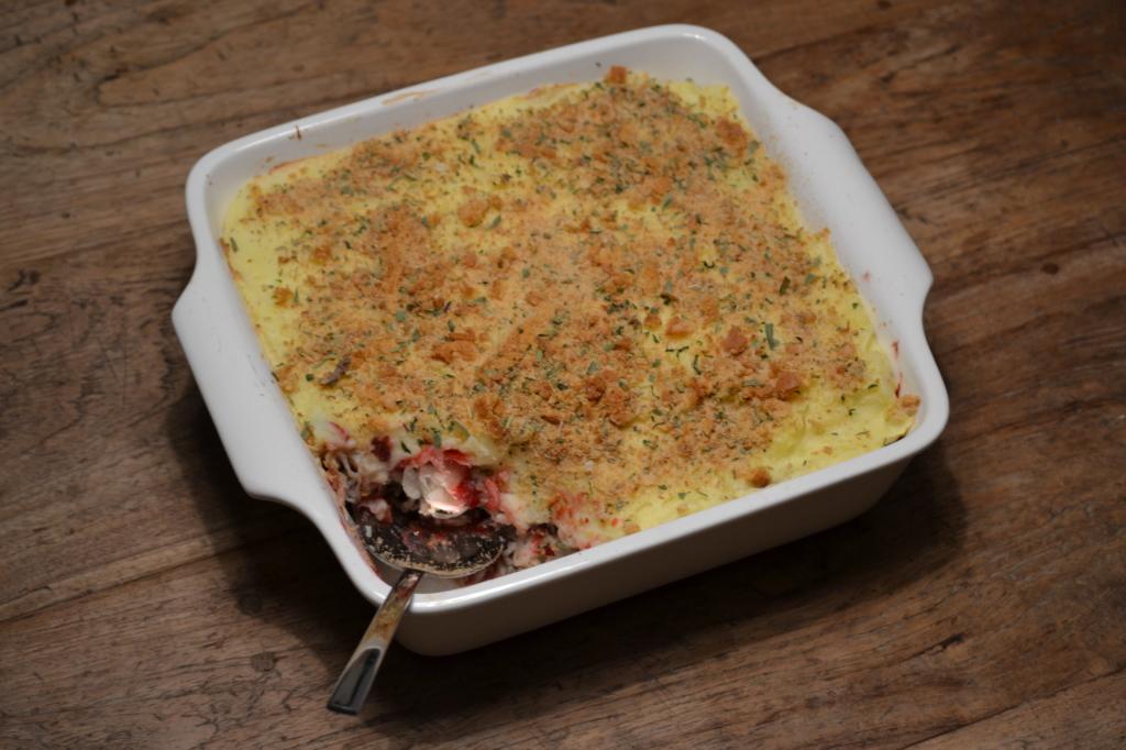 Zuurkoolschotel met cranberry compote foto 2
