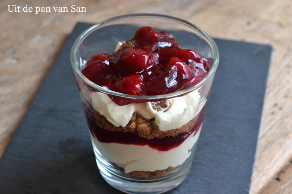 dessert in glas recept