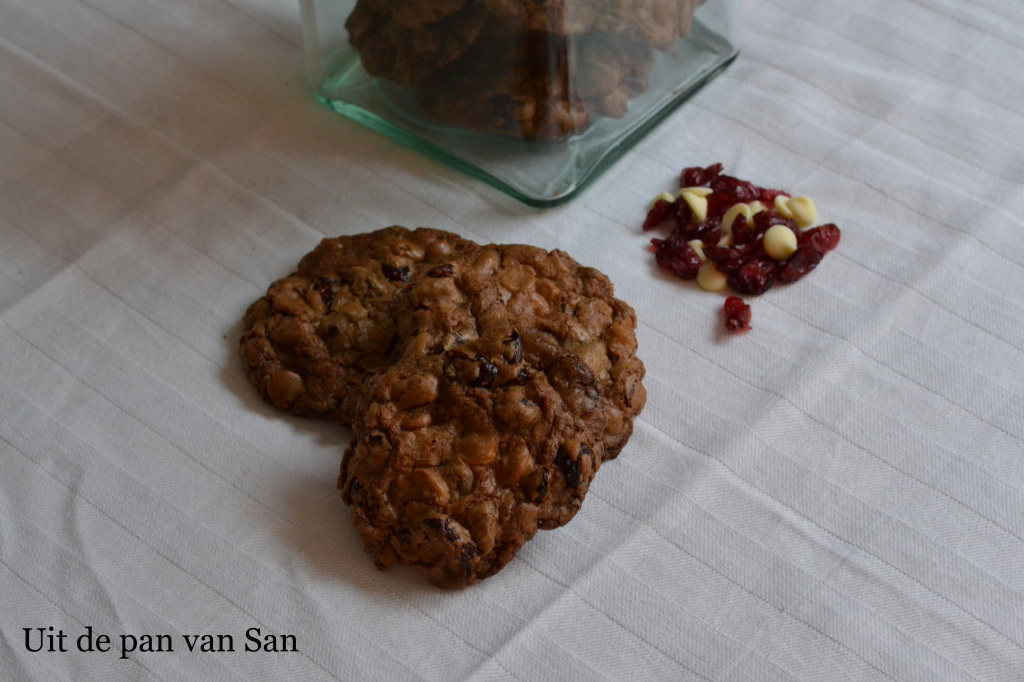 Witte chocolade cranberry cookies UpS copy