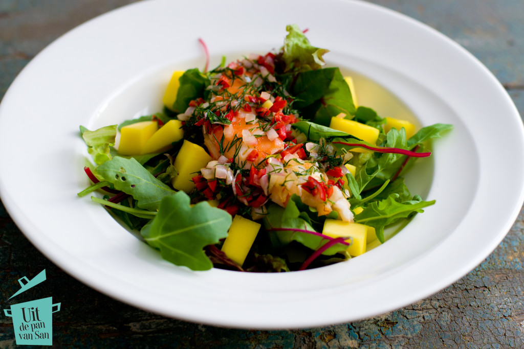 Salade met langoustine-met logo