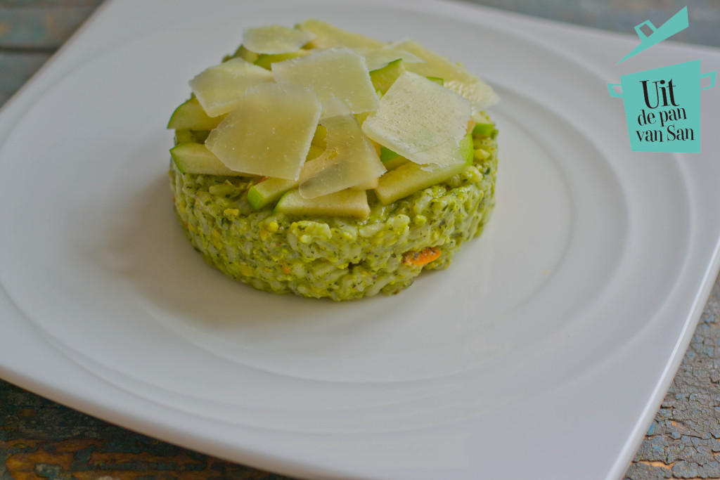 Zomerse risotto met logo