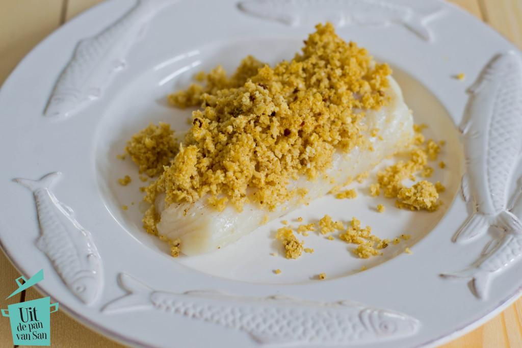 Marrokaanse kabeljauw met bloemkool hazelnoot couscous met logo