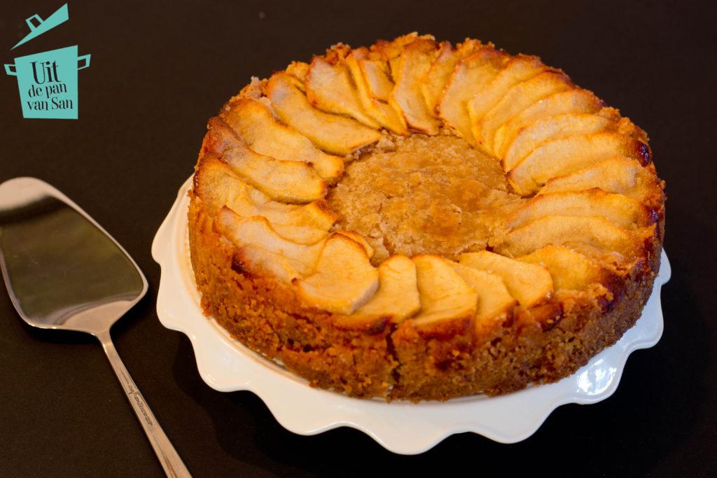 appel kaneel boterkoek met logo